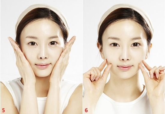 Cách làm cho khuôn mặt thon gọn 6