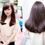 Hướng dẫn để tóc mái lệch cho mặt tròn thêm xinh