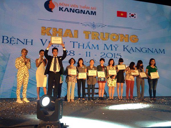 Tường thuật trực tiếp sự kiện khai trương BVTM Kangnam 16